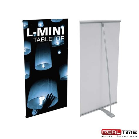 table top heat l l mini table top tension banner stand rt media solutions