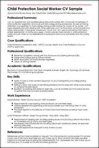 Curriculum Vitae Exles Social Work by Child Protection Social Worker Cv Sle Myperfectcv