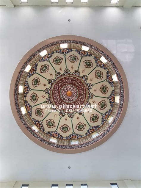 kaligrafi kubah masjid archives ghaza art chaligraper