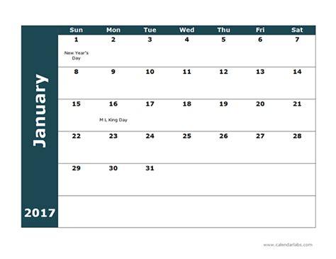 monthly calendar 2017 template 2017 monthly calendar template 18 free printable templates
