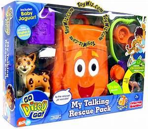 Amazon.com: Fisher-Price Go Diego Go My Talking Rescue ...