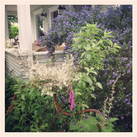 Our Front Porch Old Bed Frame The California Lilac