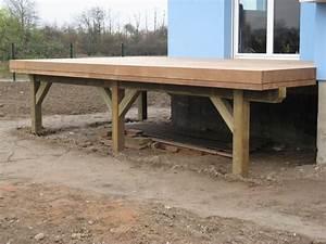 terrasse en bois sur pilotis ma terrasse With comment faire une terrasse bois sur pilotis