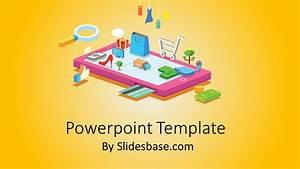 How To Print A Prezi Mobile Shopping Powerpoint Template Slidesbase