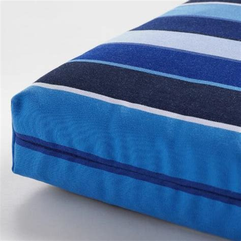 sunbrella cobalt blue outdoor chaise lounge cushion