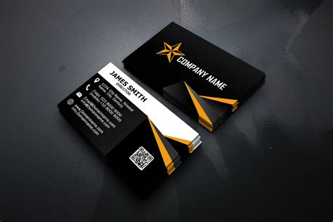 modern business cards template graphic  polahdesign