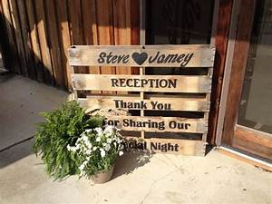 vow renewal ideas pallet sign for wedding vow renewal With wedding vow renewal reception ideas