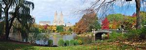 New York City Central Park Autumn Panorama Photograph by ...