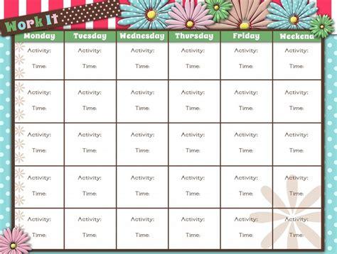 workout calendar template printable workout calendar activity shelter