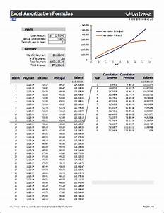 mortgage calculator amortization excel download bi With amortization formula excel template