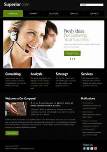 free website template with jquery slider for business With homepage template free download