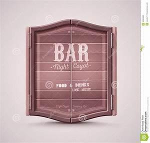 Bar Doors Stock Photo - Image: 53363089