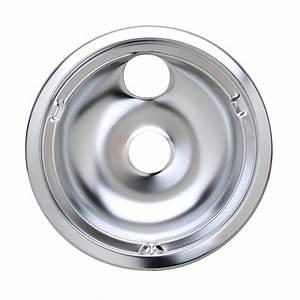 Kenmore 363 9144190 Burner Drip Bowl  8 In  Chrome