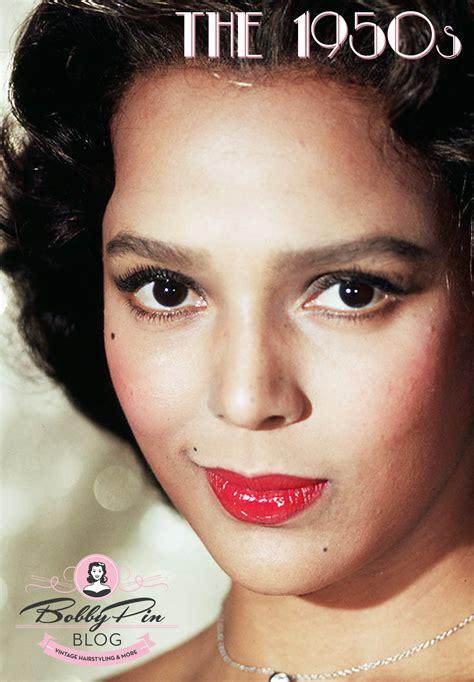 vintage makeup  darker skin tones   atomic age