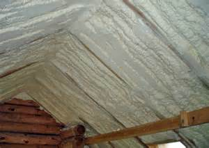 Spray Foam Insulation Cathedral Ceiling