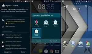 Sony Xperia Z3 Home Launcher und Widgets portiert