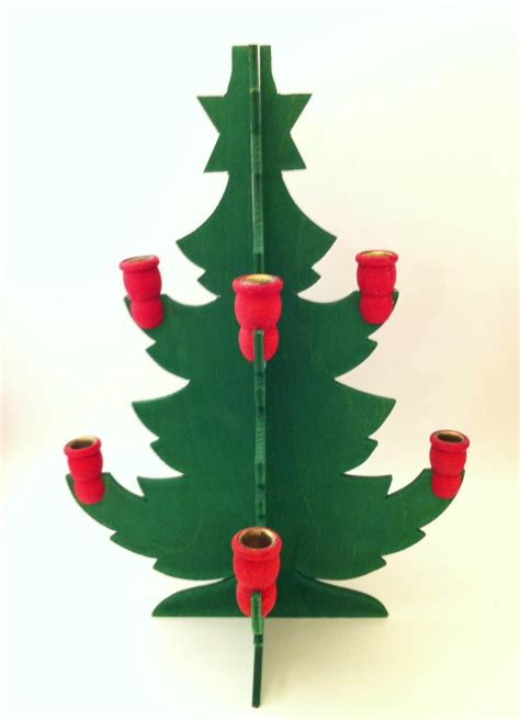 swedish christmas tree candle holder wooden christmas tree