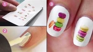 Dessin A Faire Sois Meme : plus besoin d 39 acheter des stickers pour les ongles voici comment les faire soi m me ~ Melissatoandfro.com Idées de Décoration