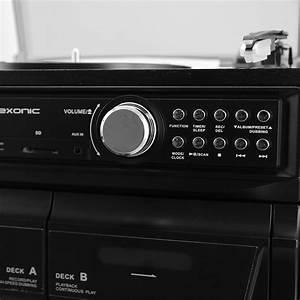 Radio Cd Kassette : lp record cassette cd player turntable stereo speakers fm ~ Jslefanu.com Haus und Dekorationen