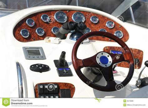 Boat Control Panel by Control Panel Of The Speed Boat Stock Image Image Of