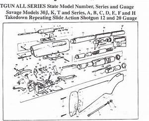 Savage Shotgun Parts  Stevens Shotgun Parts Springfield Shotgun Parts  Original Obsolete Stevens