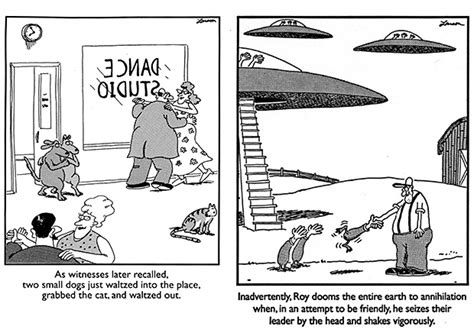 Any Fans Of The Far Side By Gary Larson? (great One-liner