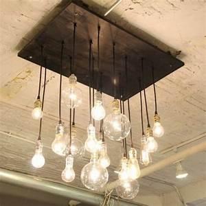 Coole Lampen Wohnzimmer : coole diy lampen aus gl hbirnen basteln sch n und funktional lampen pinterest diy lampe ~ Sanjose-hotels-ca.com Haus und Dekorationen