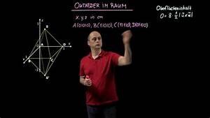 Wieviel Lumen Braucht Ein Raum : oktaeder im raum oberfl cheninhalt und volumen bungen arbeitsbl tter ~ Orissabook.com Haus und Dekorationen