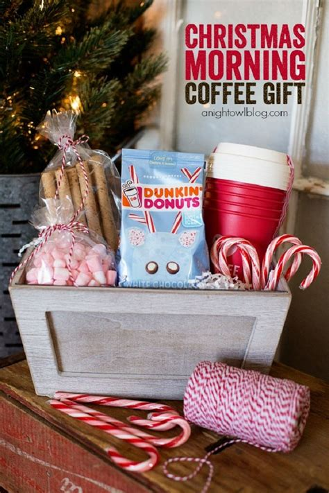 Whether they love single origin coffee, flavored coffee, coffee blends or just coffee in general, we have the perfect gift for them. Top 10 DIY Gift Basket Ideas for Christmas - Top Inspired