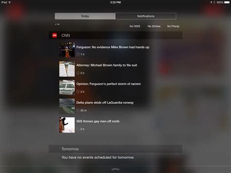 cnn comments section cnn app gets a notification center widget sports section