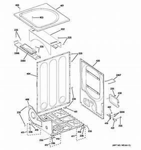 Ge Model Gfdn100el0ww Residential Dryer Genuine Parts