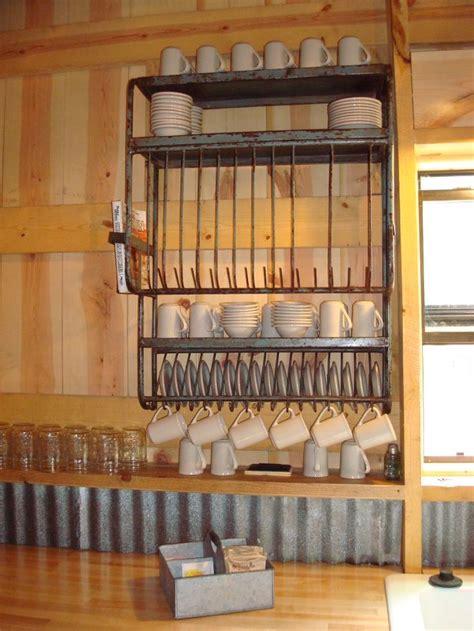 rustic dish racks ideas  pinterest farmhouse dish racks country cabin decor
