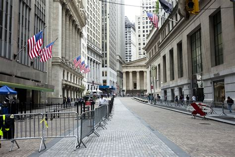 Wall Street Road In New York City Thousand Wonders