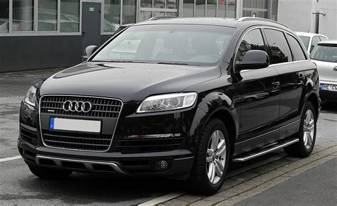 audi q7 audi q7 history photos on better parts ltd