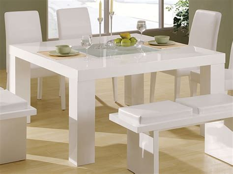 modern white kitchen table elegant white dining tables hometone