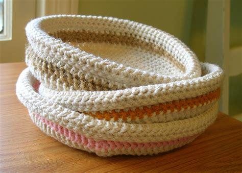 crochet basket oh the cuteness free crochet and knitting patterns