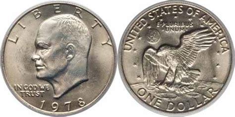 specifications eisenhower silver dollars 1978 eisenhower dollar values facts