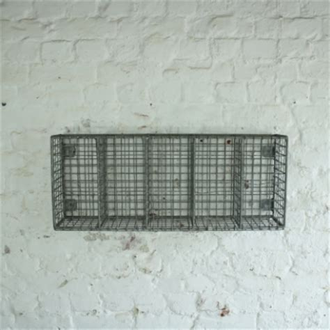 vintage wire mesh shelf rack lovely  company