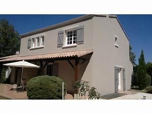 Ravalement peinture maison a nantes 44200 for Peinture de facade maison