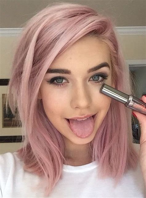25 Best Ideas About Light Pink Hair On Pinterest Pastel