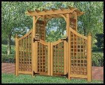 Arbor Garden Apartments Vt by New Japanese Style Cedar Wood Garden Arbor Pergola Arch