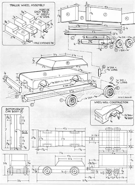 wooden jeep plans wooden car and trailer plans woodarchivist