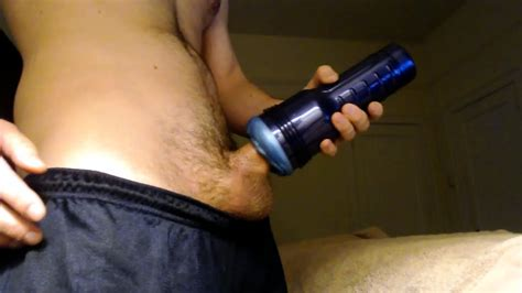 Hot Big Cock Fucks Fleshlight To Cumshot Solo Male