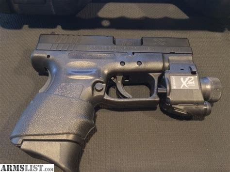 springfield xds light armslist for springfield armory xd 9mm subcompact