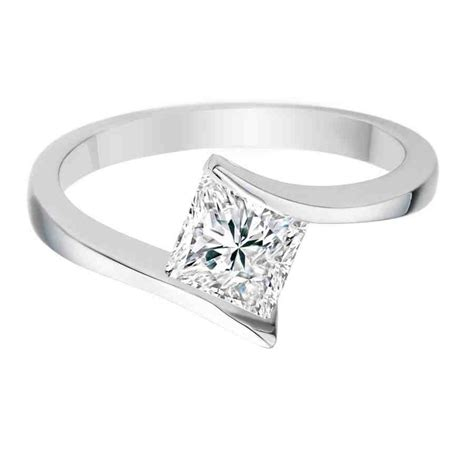 simple princess cut engagement rings wedding and