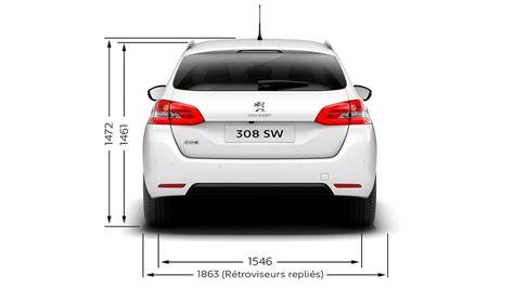 Technical Information  Peugeot 308 Sw Estate  Peugeot Uk
