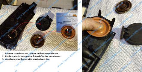 diaphragm valve cover engine porsche cayenne   ebay