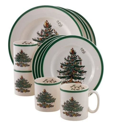sets christmas dinnerware holiday rated