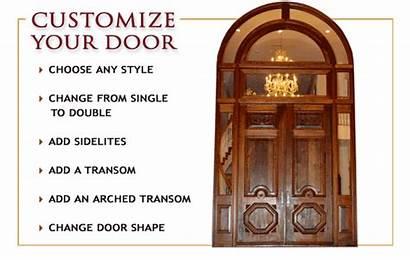 Door Church Entry Doors Mahogany French Borano