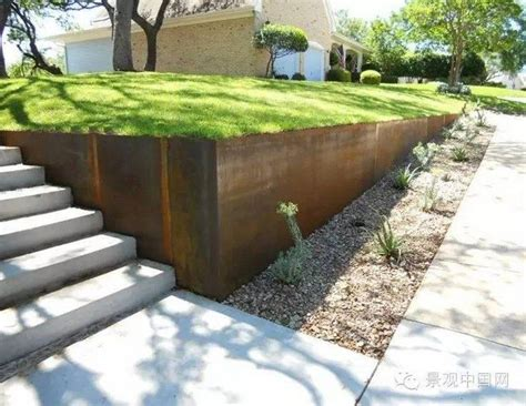 steel landscaping retaining wall ideas diy projects for everyone